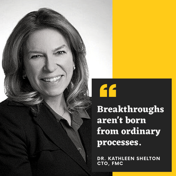 FMC CTO Kathy Shelton on Finding Innovation in Crop Protection