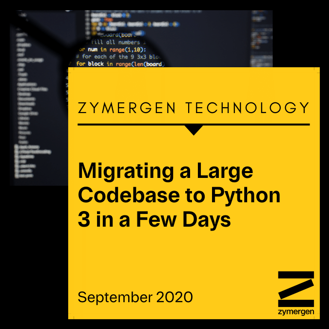 Migrating a Large Codebase to Python 3 in a Few Days