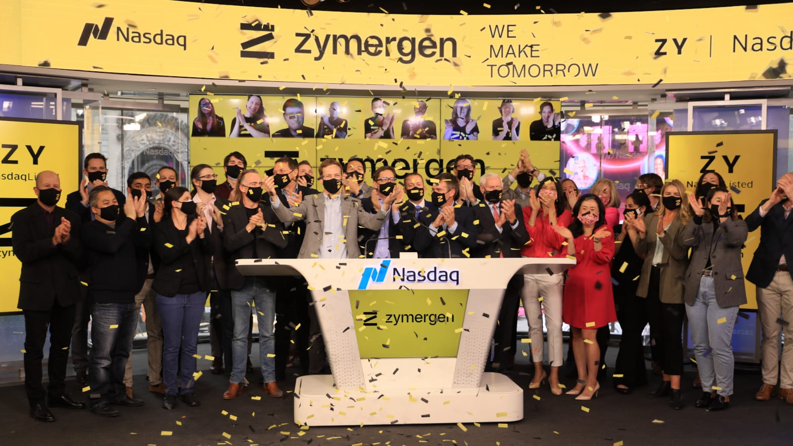 Closing Bell on IPO Day
