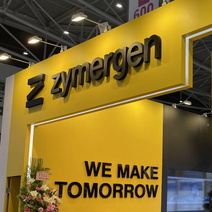 Zymergen booth at Touch Taiwan